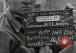 Image of 90th Infantry Division Alencon France, 1944, second 1 stock footage video 65675023533
