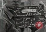 Image of 90th Infantry Division Alencon France, 1944, second 2 stock footage video 65675023533