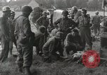 Image of United States medics Gace France, 1944, second 10 stock footage video 65675023536