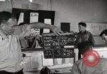 Image of Pilots board aircraft United States USA, 1950, second 1 stock footage video 65675023557