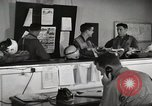 Image of Pilots board aircraft United States USA, 1950, second 12 stock footage video 65675023557