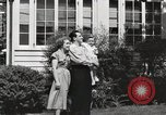 Image of Family watch aircraft United States USA, 1950, second 4 stock footage video 65675023560