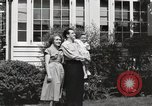 Image of Family watch aircraft United States USA, 1950, second 6 stock footage video 65675023560