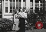 Image of Family watch aircraft United States USA, 1950, second 8 stock footage video 65675023560