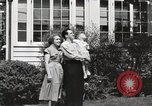 Image of Family watch aircraft United States USA, 1950, second 10 stock footage video 65675023560
