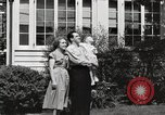 Image of Family watch aircraft United States USA, 1950, second 11 stock footage video 65675023560