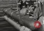 Image of German Neger one-man torpedo carrier craft Lubeck Germany, 1944, second 3 stock footage video 65675023573