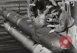 Image of German Neger one-man torpedo carrier craft Lubeck Germany, 1944, second 5 stock footage video 65675023573