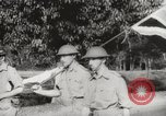 Image of British officers surrender Singapore, 1942, second 8 stock footage video 65675023575