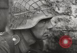 Image of German troops on watch in combat with British forces Europe, 1944, second 3 stock footage video 65675023576