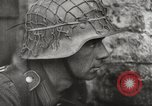 Image of German troops on watch in combat with British forces Europe, 1944, second 6 stock footage video 65675023576