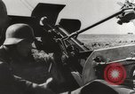 Image of German antiaircraft gunners battle attacks by Soviet bombers Crimea, 1941, second 8 stock footage video 65675023585