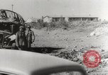 Image of trains and trucks at German military port Kerch Crimea, 1941, second 4 stock footage video 65675023586