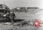 Image of trains and trucks at German military port Kerch Crimea, 1941, second 5 stock footage video 65675023586