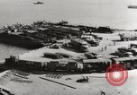 Image of trains and trucks at German military port Kerch Crimea, 1941, second 8 stock footage video 65675023586