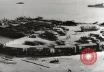 Image of trains and trucks at German military port Kerch Crimea, 1941, second 9 stock footage video 65675023586