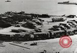 Image of trains and trucks at German military port Kerch Crimea, 1941, second 10 stock footage video 65675023586