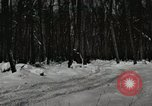 Image of Ford automobile with skis Michigan United States USA, 1918, second 1 stock footage video 65675023594