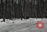 Image of Ford automobile with skis Michigan United States USA, 1918, second 2 stock footage video 65675023594