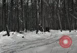 Image of Ford automobile with skis Michigan United States USA, 1918, second 3 stock footage video 65675023594