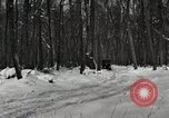 Image of Ford automobile with skis Michigan United States USA, 1918, second 4 stock footage video 65675023594