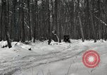 Image of Ford automobile with skis Michigan United States USA, 1918, second 6 stock footage video 65675023594