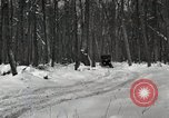 Image of Ford automobile with skis Michigan United States USA, 1918, second 7 stock footage video 65675023594