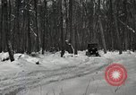 Image of Ford automobile with skis Michigan United States USA, 1918, second 10 stock footage video 65675023594