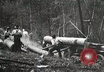 Image of workers load timber United States USA, 1926, second 9 stock footage video 65675023598