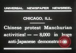 Image of Chinese protest against Japanese Chicago Illinois USA, 1931, second 5 stock footage video 65675023609