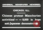 Image of Chinese protest against Japanese Chicago Illinois USA, 1931, second 10 stock footage video 65675023609