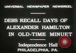 Image of celebration at Independence Hall Philadelphia Pennsylvania USA, 1931, second 12 stock footage video 65675023614