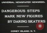 Image of figure skating at Coney Island New York United States USA, 1931, second 2 stock footage video 65675023619