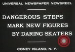 Image of figure skating at Coney Island New York United States USA, 1931, second 5 stock footage video 65675023619