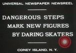 Image of figure skating at Coney Island New York United States USA, 1931, second 6 stock footage video 65675023619