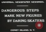 Image of figure skating at Coney Island New York United States USA, 1931, second 7 stock footage video 65675023619