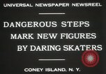Image of figure skating at Coney Island New York United States USA, 1931, second 8 stock footage video 65675023619
