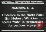 Image of Sir George Hubert Camden New Jersey USA, 1931, second 2 stock footage video 65675023620