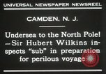 Image of Sir George Hubert Camden New Jersey USA, 1931, second 4 stock footage video 65675023620