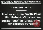 Image of Sir George Hubert Camden New Jersey USA, 1931, second 5 stock footage video 65675023620
