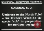 Image of Sir George Hubert Camden New Jersey USA, 1931, second 6 stock footage video 65675023620