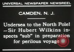 Image of Sir George Hubert Camden New Jersey USA, 1931, second 7 stock footage video 65675023620