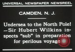 Image of Sir George Hubert Camden New Jersey USA, 1931, second 8 stock footage video 65675023620