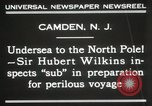 Image of Sir George Hubert Camden New Jersey USA, 1931, second 10 stock footage video 65675023620