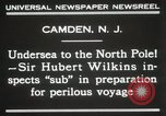 Image of Sir George Hubert Camden New Jersey USA, 1931, second 11 stock footage video 65675023620