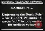 Image of Sir George Hubert Camden New Jersey USA, 1931, second 12 stock footage video 65675023620