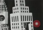 Image of architects dressed as buildings New York United States USA, 1931, second 14 stock footage video 65675023621