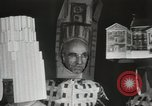 Image of architects dressed as buildings New York United States USA, 1931, second 24 stock footage video 65675023621