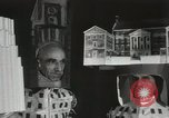 Image of architects dressed as buildings New York United States USA, 1931, second 26 stock footage video 65675023621