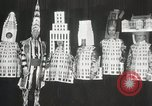 Image of architects dressed as buildings New York United States USA, 1931, second 27 stock footage video 65675023621